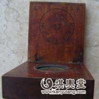 早期方秀水罗经店制日月晷